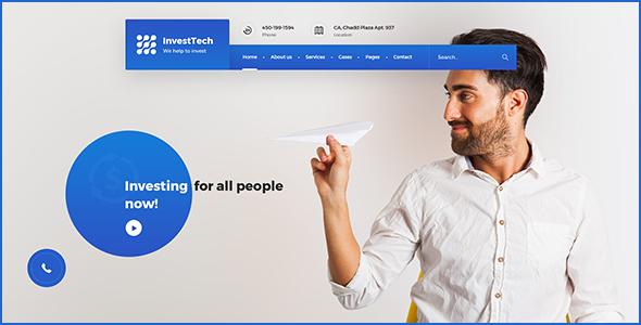 InvestTech - corporate PSD template            TFx Mansur Kerr
