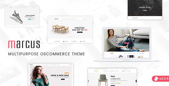 Marcus - Premium Multipurpose osCommerce Theme            TFx Riku Alpha
