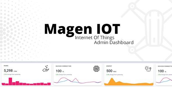 Magen IOT Admin Dashboard            TFx Jessie Jacob