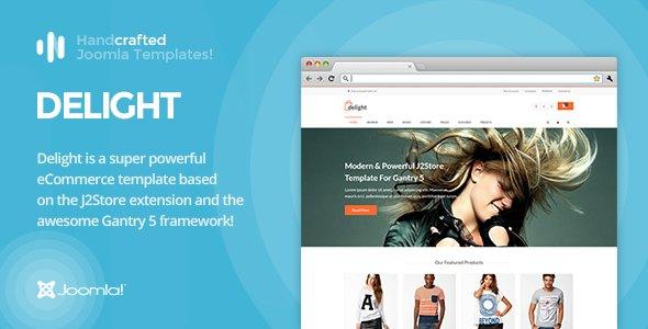 IT Delight - Gantry 5, eCommerce/J2Store Joomla Template            TFx Andie Felix
