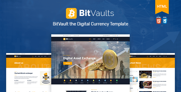 Bitvaults | Bitcoin and Cryptocurrency HTML Template            TFx Ahmad Lane