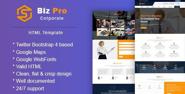 BizPro || Corporate & Business Responsive Template            TFx September Micah