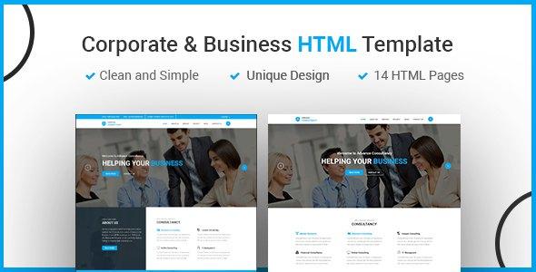 CORVANCE - Agency & Business HTML5 Template            TFx Aaron Darwin