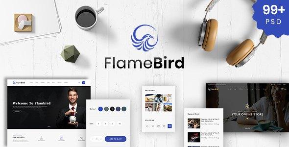 Flamebird - Multi-Purpose PSD Template            TFx Sandford Vespasian