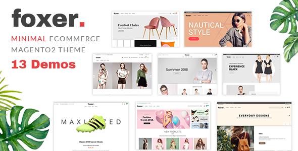 Foxer - Minimalist eCommerce Magento2 Theme            TFx Lyall Lindy