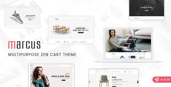 Marcus - Premium Multipurpose Responsive Zen Cart theme            TFx Rob Quincy