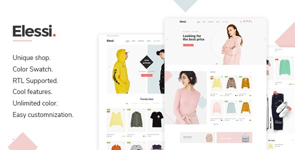 Elessi - Fashion Responsive Magento 2 Theme ( RTL supported )            TFx Jake Rowley