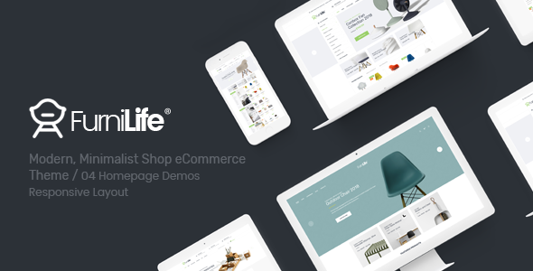 Furnilife - Furniture, Decorations & Supplies Magento Theme            TFx Shota Eduard