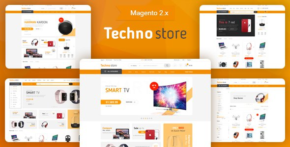 Techno Store - Electronic Magento 2 Theme            TFx Yasu Silver