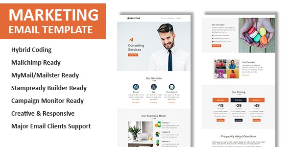 Marketing - Multipurpose Responsive Email Template with Online StampReady Builder Access            TFx Roosevelt Nat