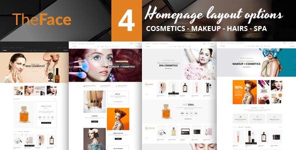 Theface - PrestaShop Theme for Beauty & Cosmetics Store            TFx Hiraku Amias