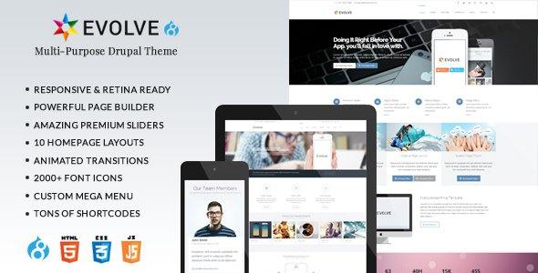 Evolve - Responsive Multi-Purpose Drupal 8 Theme            TFx Kingston Van