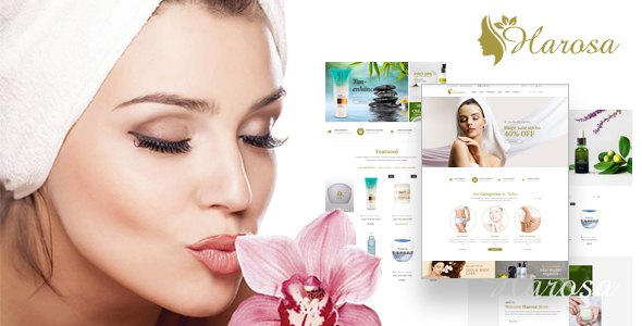 Harosa - Cosmetics and Beauty Magento Theme            TFx Gore Mortimer