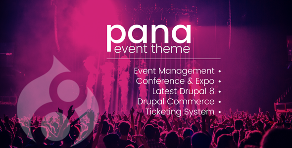Pana Conference and Event Drupal 8 Theme            TFx Vedast Sherman