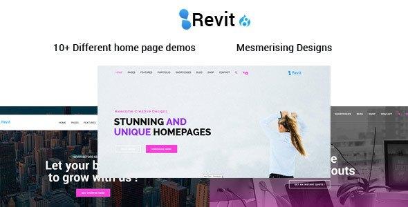Revit | The Responsive Multi-Purpose Drupal 8 Theme            TFx Kameron Arron