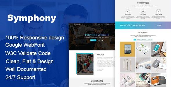 Symphony - Multipurpose Business HTML Template            TFx Gyles Krisna
