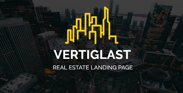 Vertiglast - Real Estate Landing Page            TFx Gareth Kenith