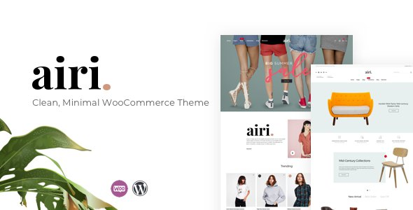 Airi - Clean, Minimal WooCommerce Theme            TFx Oz Woshothuum
