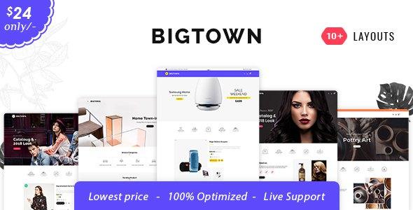 Bigtown - Opencart 3 Multi-Purpose Responsive Theme            TFx Fenton Colin