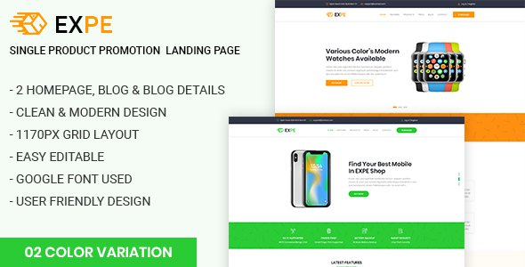 EXPE - Ultimate Single Product Promotion Landing Page            TFx Mick Harry