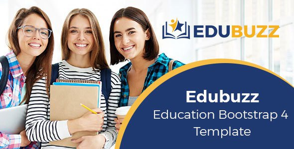 Edubuzz - Education Bootstrap 4 Template            TFx Sidney Esmund