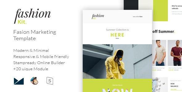 Fashion Kit - Fashion Marketing Template            TFx Benton Dacre