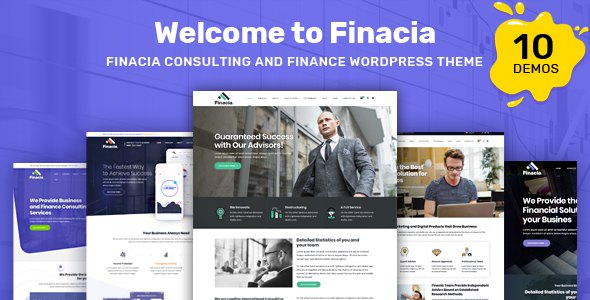Finacia - Finance & Financial Consulting WordPress Theme            TFx Radclyffe Merton