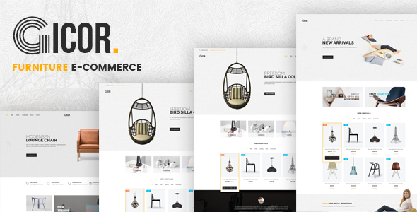 Gicor - Furniture OpenCart Theme (Included Color Swatches)            TFx Quidel Alexander