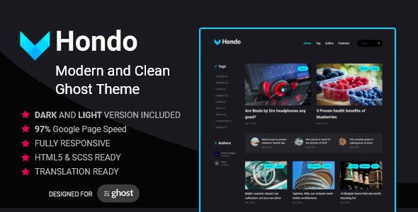 Hondo - Multipurpose Ghost Blog            TFx Dillan Gaz