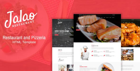 Jalao - Restaurant & Pizza HTML Template            TFx Purdie Max