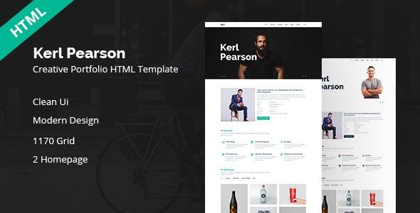 Kerl Pearson || Creativ HTML Template            TFx Elsdon Ted