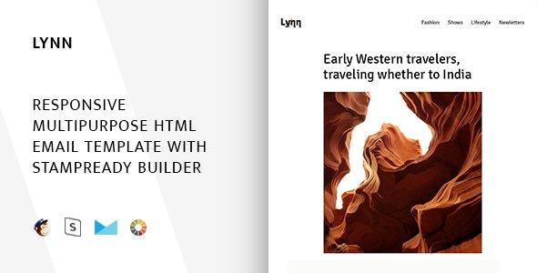 Lynn – Responsive Email + StampReady Builder & Mailchimp            TFx Ocean Hamnet