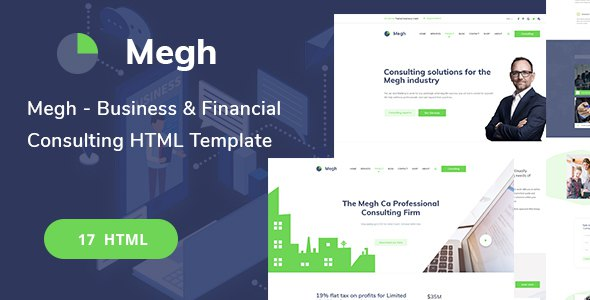 Megh-Business & Consulting solutions HTML Template            TFx Anthony Piers