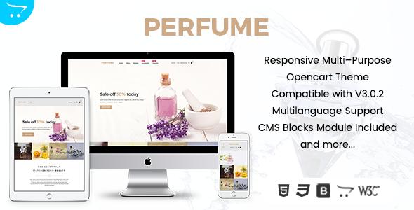 Perfume - Opencart Multi-Purpose Responsive Theme            TFx Octavian Mitch