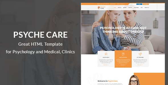 Psyche - Psychology and Counseling Site Template            TFx Geoffrey Carlisle
