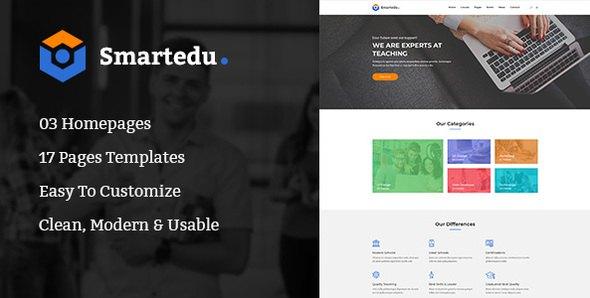 SmartEdu | Education & Courses PSD Template            TFx Cauã Sanford