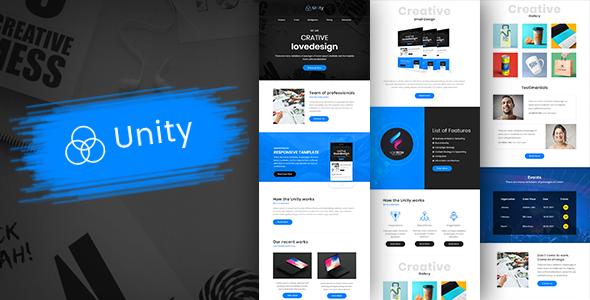 Unity-Multipurpose Responsive Business Email Template + Builder            TFx Garrick Tatanka