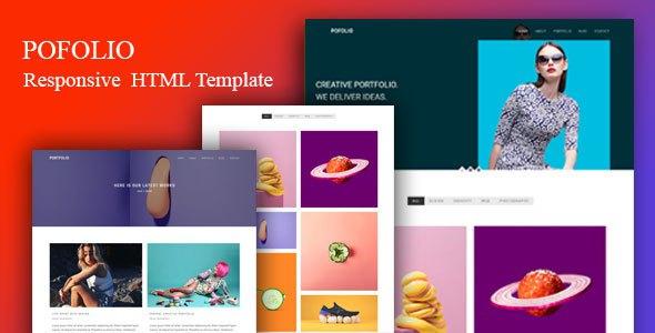 pofolio - modern Portfolio HTML Template            TFx Dirk Karson