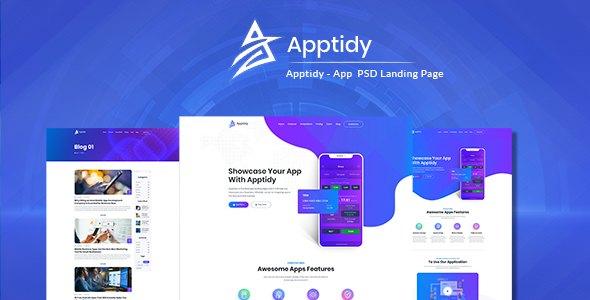 Apptidy - App Landing Page      TFx Scot Heath