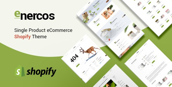 Enercos - Single Product eCommerce Shopify Theme            TFx Julyan Royale