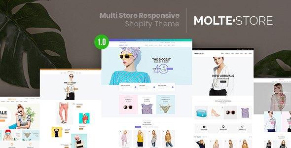 MolteStore - Multi Store Responsive Shopify Theme      TFx Napier Ivor