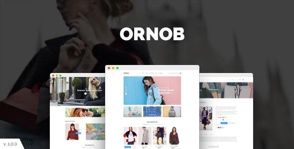 Ornob - Modern eCommerce PSD Template            TFx Nyoman Kenelm