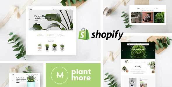 Plantmore - Responsive Shopify Theme      TFx Lenny Norman
