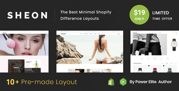 Sheon - Sectioned Multipurpose Shopify Theme            TFx Jaci Rodolph
