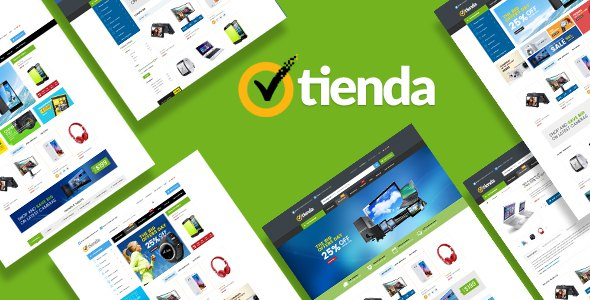 Tienda  - Technology OpenCart Theme (Included Color Swatches)            TFx Scotty Troy