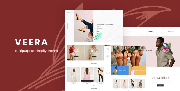 Veera - Shopify Responsive Theme      TFx Harper Kusuma