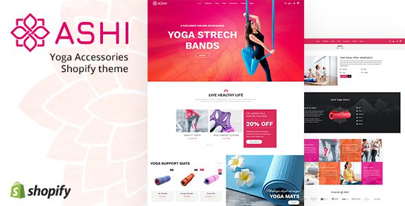 Ashi | Yoga Shopify Sectioned Theme        TFx Connell Caden