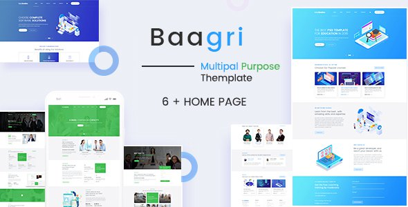 Baagri Multipurpose PSD Template        TFx Tennyson Sandy