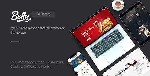 Belly - Multipurpose eCommerce Bootstrap 4 Template        TFx Bobby Kenneth