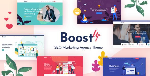 BoostUp - SEO Marketing Agency Theme        TFx Goro Kole